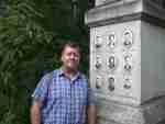 Memorial to the nine skiers who died in the Dyatlov Pass tragedy
