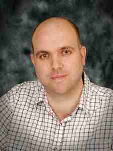 Self-published author Andy Leeks
